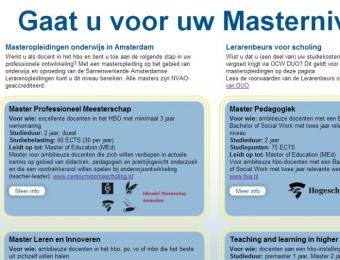 Onderwijs Masters